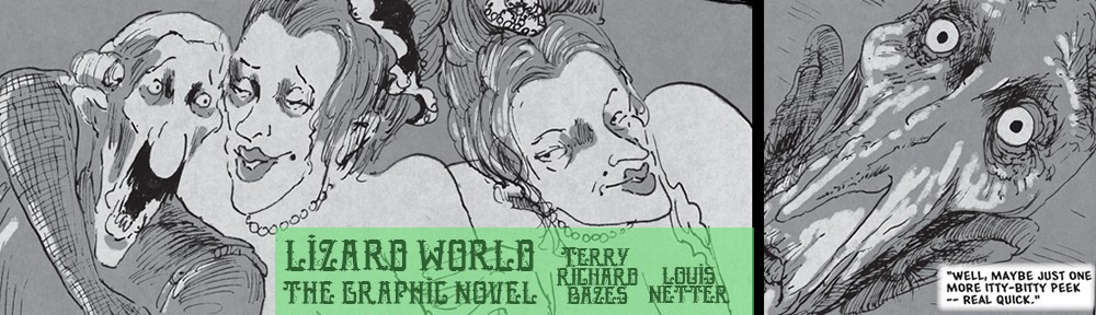 Lizard World the Graphic Novel