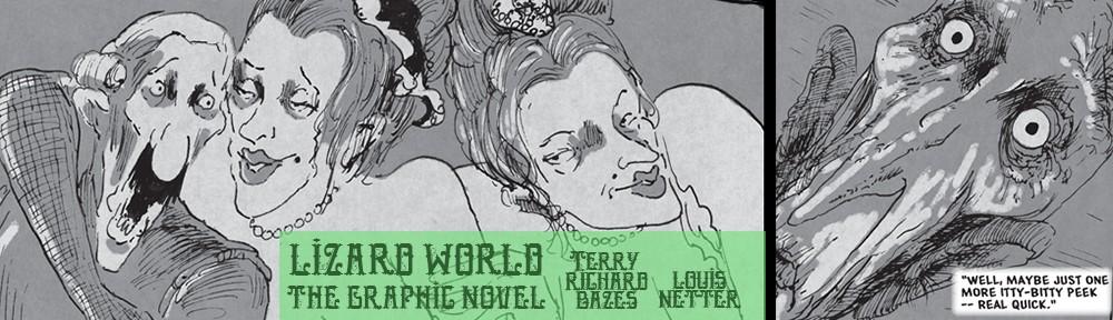 Lizard World the Graphic Novel